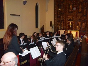 Abraham Darby Academy wind band