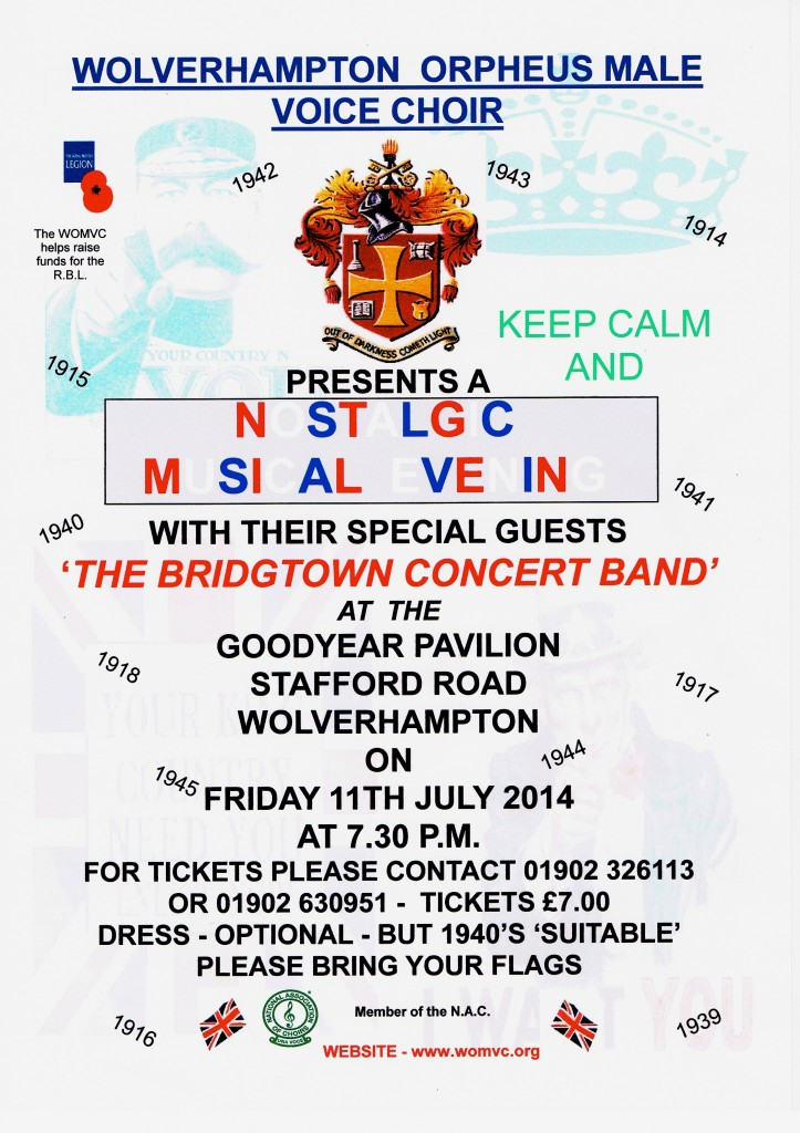 Goodyear Concert Fri 11 July 2014