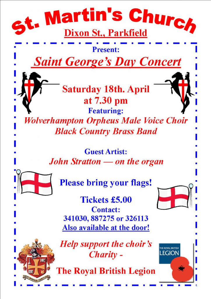 St Martins St Georges Day Concert 18Apr2015 poster