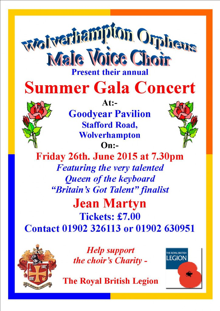 Summer Gala Goodyear Pavilion 26Jun2015