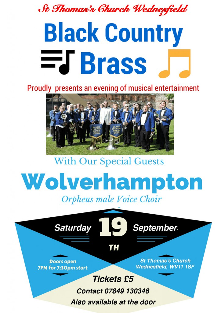 Black Country Brass joint concert 19Sep2015