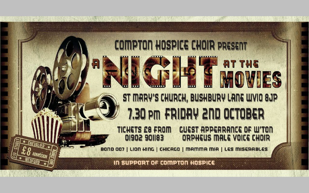 Compton Hospice Choir Night at the Movies