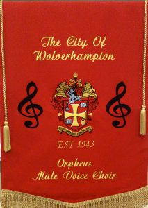 Our new choir banner
